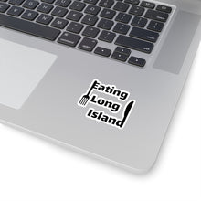 "Load image into Gallery viewer, ""Eating Long Island"" Kiss-Cut Stickers"