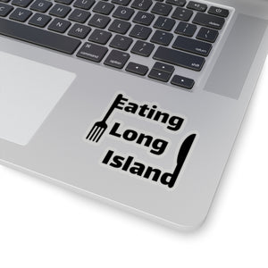 """Eating Long Island"" Kiss-Cut Stickers"