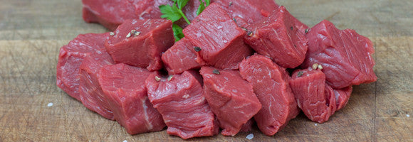 Extra Portion of Grass-Fed Australian Beef tenderloin cubes