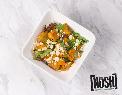 Nosh's Pumpkin Side with Almond Flakes (For 1 Serve)