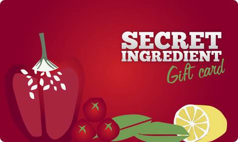 Gift / Meal Packages with Secret Ingredient