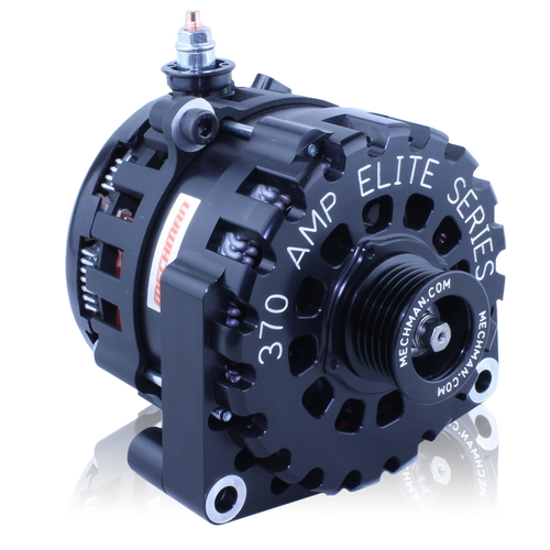 Mechman High Output 370 Amp Alternator - GM/Chevy Silverado, Sierra, Suburban, Tahoe, and Escalade ('14-'18)