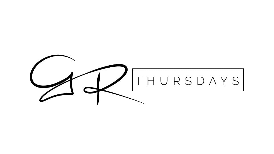 This is the GR Thursdays logo. This logo is often included in our design imagery.