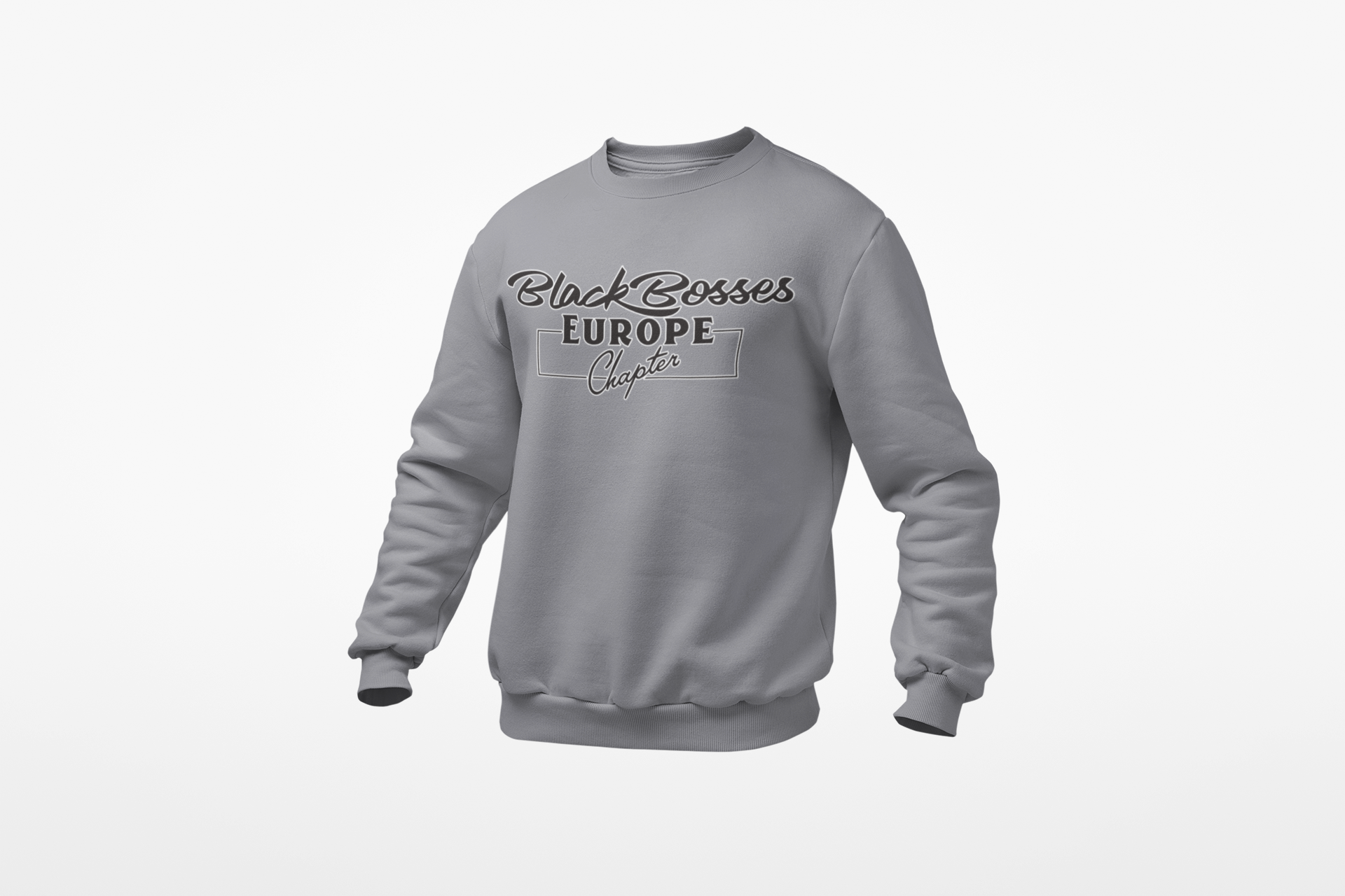 GRT - Black Bosses Europe Sweatshirt Style I