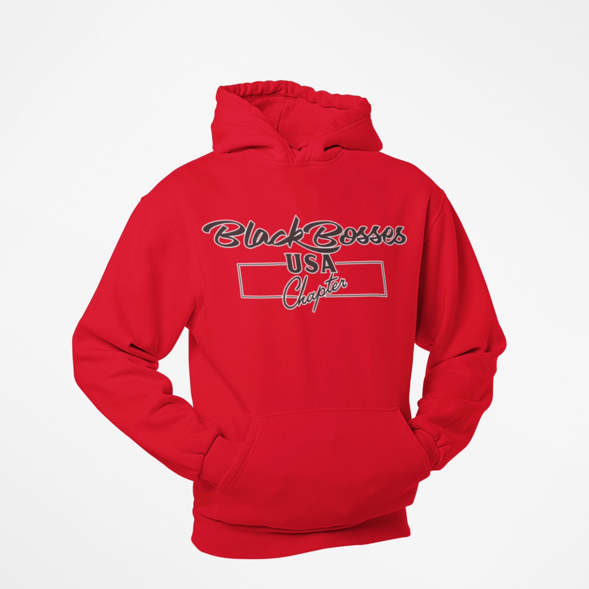GRT Black Boses USA Hoodies Style I