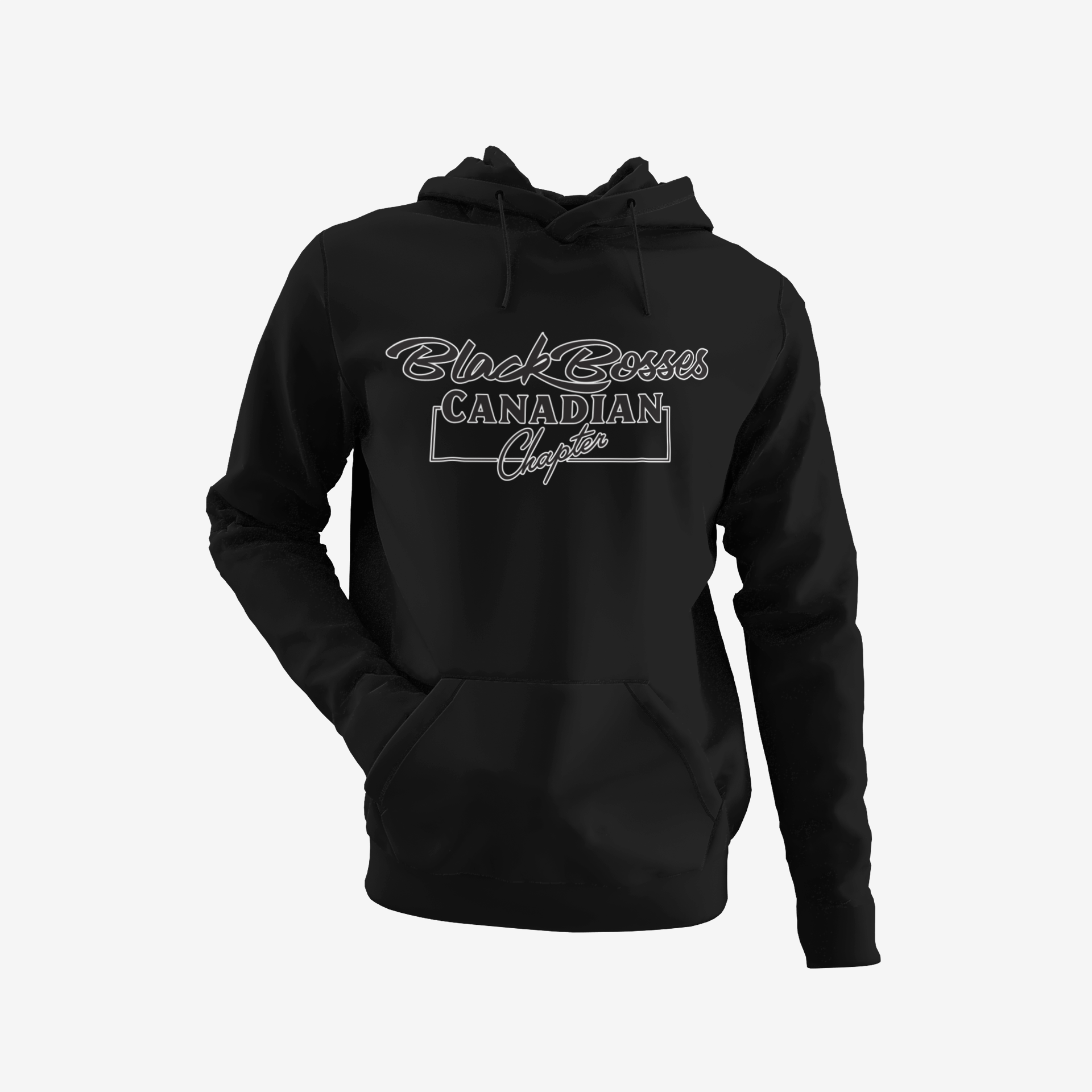 GRT - Black Bosses Canadian Hoodie Style I