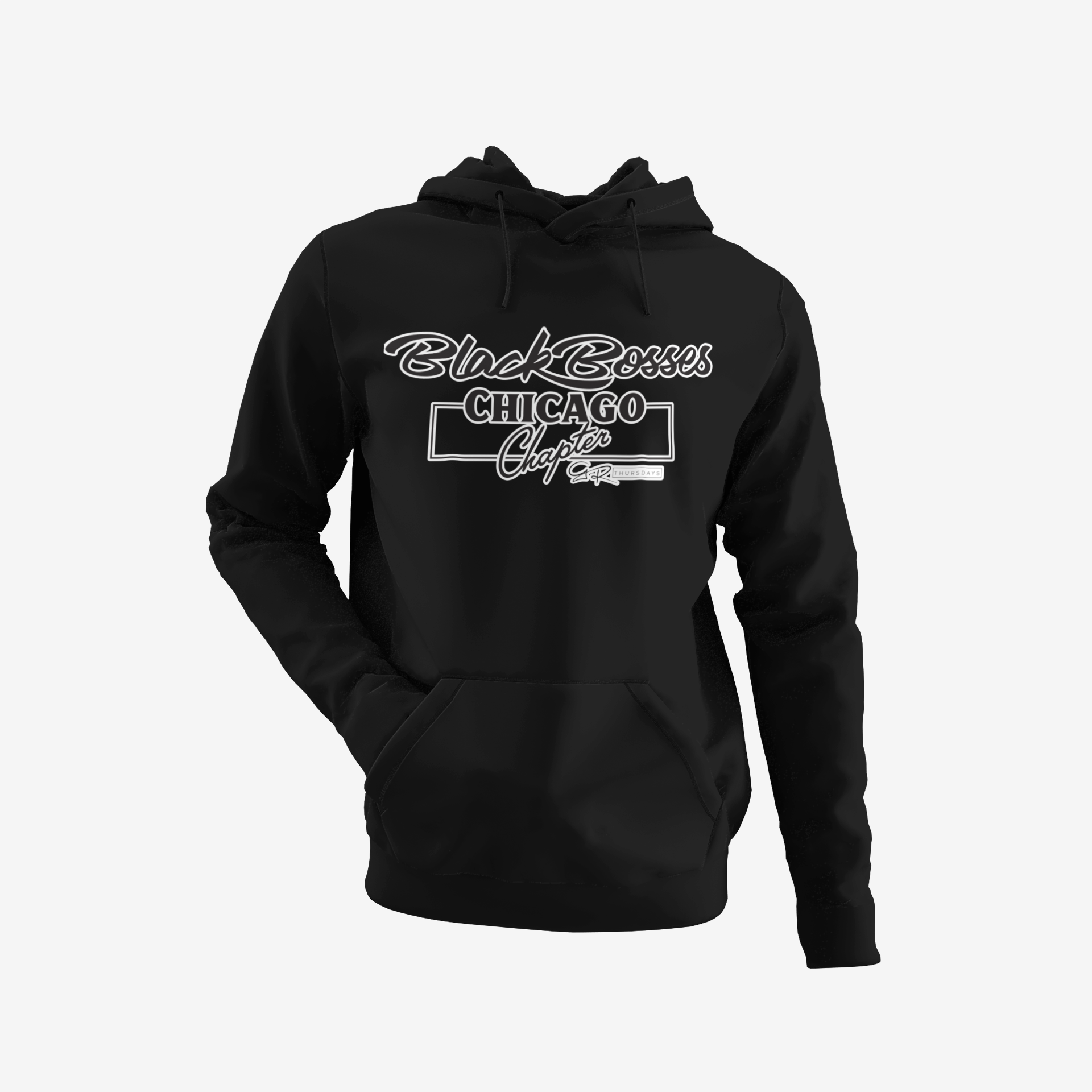 GRT - Black Bosses Chicago Hoodie Style I