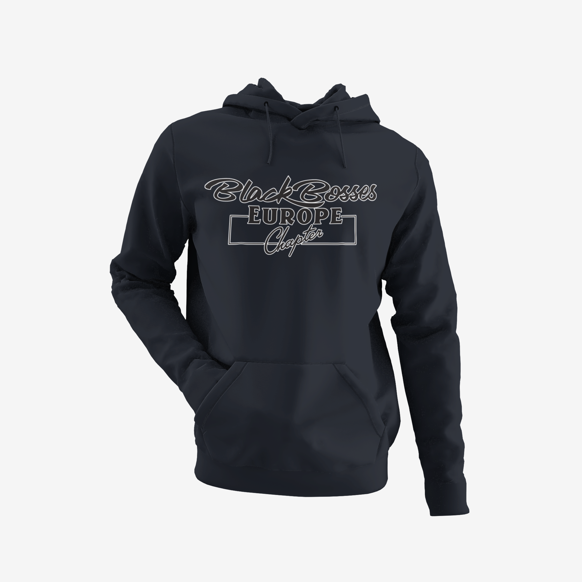 GRT - Black Bosses Europe Hoodies Style I