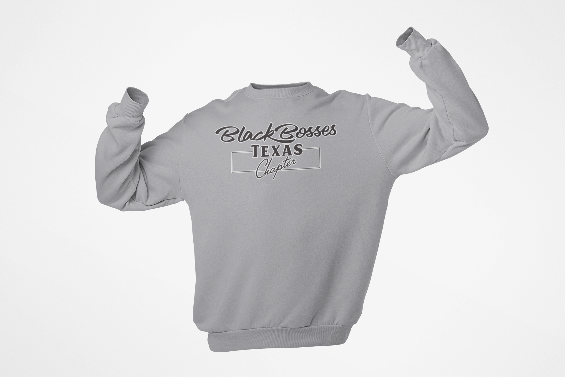 GRT - Black Bosses Texas Sweatshirt Style I