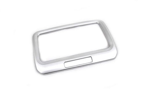 Matte Chrome Rear Seat A/C Vent Cover Trim