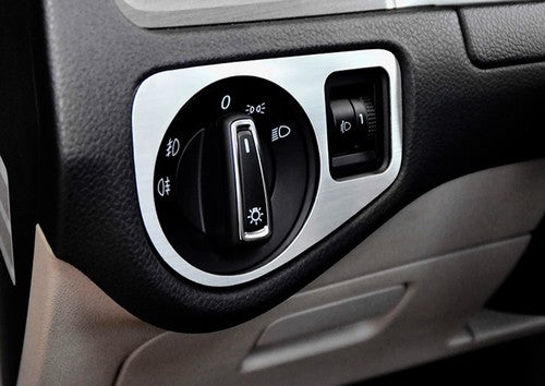 Head Light Switch Panel Cover (Brush Aluminium)