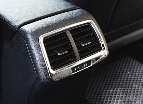 Chrome Rear Seat A/C Vent Cover Trim - Golf MK7