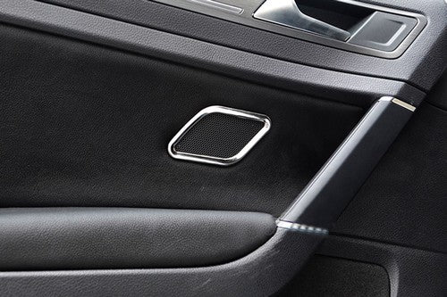 Chrome Rear Door Speaker Cover Trim