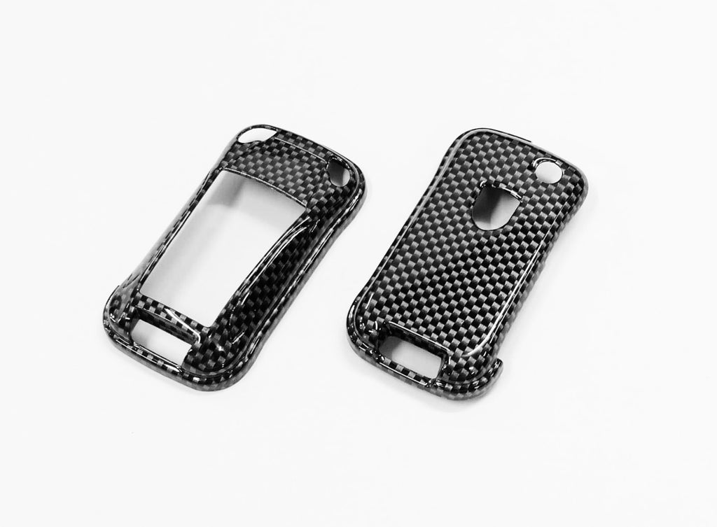 Remote Key Cover (Carbon Fiber) For Porsche Cayenne Remote Flip Key