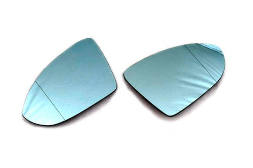 Blue Tinted Aspherical Side Mirror Glass - Golf MK7