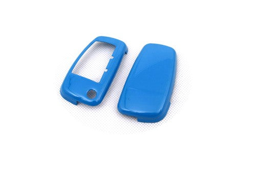 Remote Flip Key Fob Cover (Gloss Blue) For Audi Flip Key Remote
