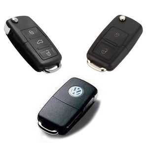 MK4 / MK5 Remote Key Cover (Silver Plated Chrome)