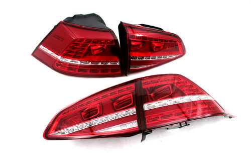 Stock LED GTI Tail Light - Golf MK7