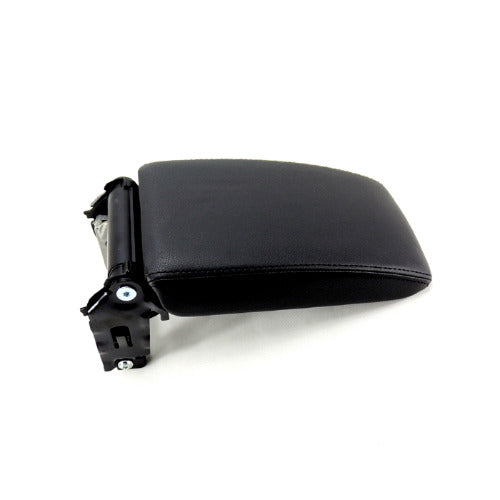 OEM Armrest Console Top Cover (Black Leather)