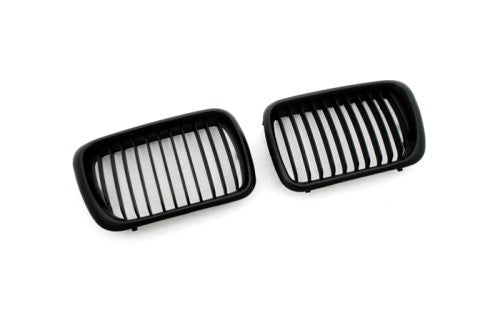 Matt Black Sport Style Front Grille Replacement - E36 Facelift