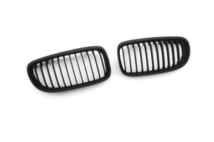 Matt Black Sport Style Front Grille Replacement - E90 Facelift