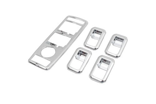 Chrome Window Buttons Surround Bezel Set - W204