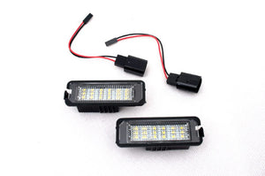 LED License Plate Lights (W/O CANBUS Load Resistors)