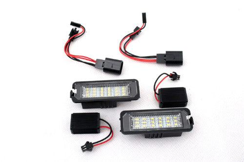 LED License Plate Lights (W/ CANBUS Load Resistors)