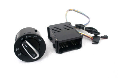 Light Sensor & Auto Euro Head Light Switch Retrofit Kit - Golf / Jetta MK4
