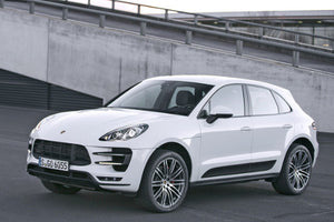 Chrome Door Side Pillar Trims - Macan