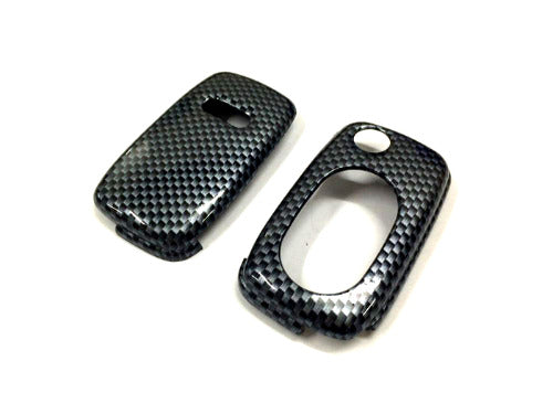 Remote Flip Key Fob Cover (Carbon Fiber) For Audi Early Flip Key Remote