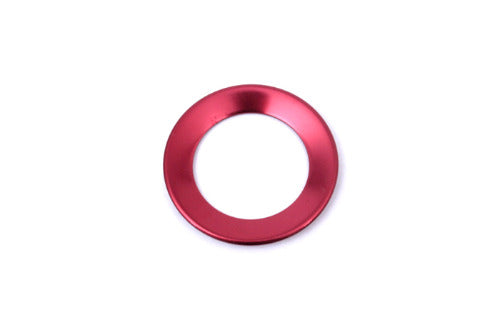Steering Wheel Emblem Ring Ornament - Red