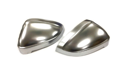 S Line Style Matt Chrome Side Mirror Cap Replacement - A4 B9 / A5 8W