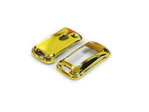 Remote Key Cover (Gold Chrome) For Porsche Cayenne Remote Flip Key