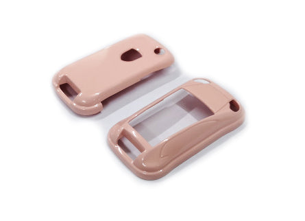 Remote Key Cover (Gloss Pink) For Porsche Cayenne Remote Flip Key