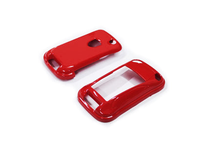 Remote Key Cover (Gloss Red) For Porsche Cayenne Remote Flip Key