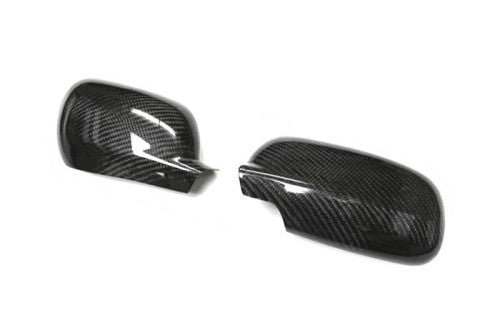 Carbon Fiber Mirror Cover (Asymmetrical)