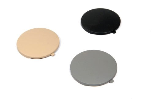 Rear Seat Ashtray Side Caps (Black)