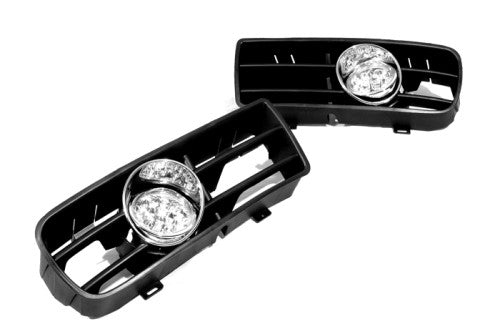 Front Fog Light Kit (Blue LED) - Golf MK4