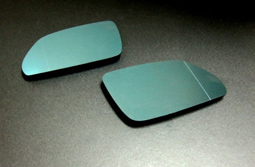 Blue Tinted Aspherical Side Mirror Glass - Polo 9N3
