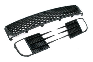 Golf MK6 GTI Front Lower Grille Complete Set