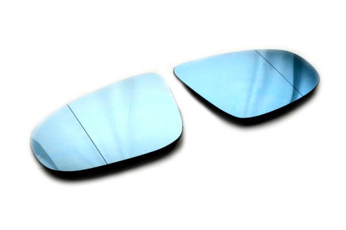 Blue Tinted Aspherical Side Mirror Glass - Golf MK6