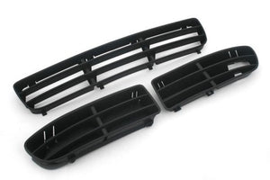 Front Bumper Complete Air Vent & Cooling Grille Inserts - Jetta / Bora MK4