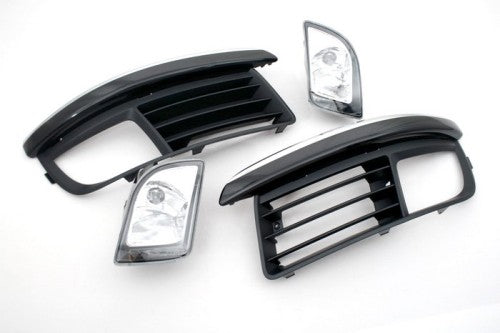 MK6 Style Square Shape Front Fog Light Kit - Jetta MK5