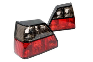 Crystal Smoke Red Tail Light - Golf MK2
