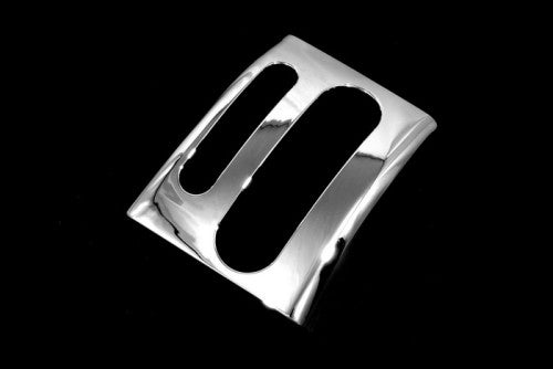 Chrome Gear Shifter Cover Plate