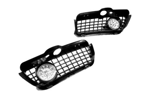Front Fog Light Kit (Red LED) - Golf / Jetta MK3