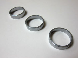 Aluminum Bezel For Climatronic Dial (Light Metal) - Set of 3 Rings