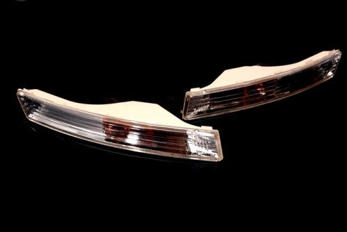 Front Bumper Euro Style Clear Turn Signal Light - Passat B6