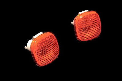 Amber Side Marker Light - Square Shape - A3 8L A4 B5